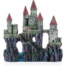 """Miracliy Aquarium Decorations Castle, Aquarium Ornament Super Castle,10"""""""